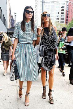 Giovanna Battaglia - Street Fashion