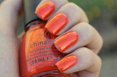 China GlazeRiveting nail-polish