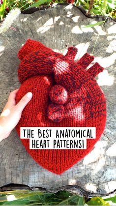 Knitting Toys, Knitting Stitches, Crochet Toys, Knit Crochet, Knitting Patterns, Crochet Patterns, Love Crochet, Irish Crochet, Heart Patterns