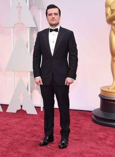 Le tapis rouge des Oscars 2015 Josh Hutcherson  © Abaca