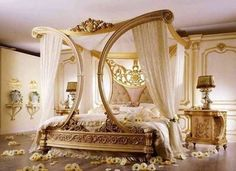 Luxurious bedroom..