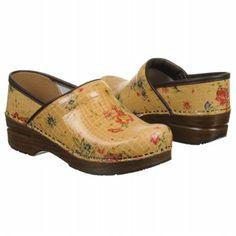Dansko Professional Shoes (Tan Floral Croc) Price: $135.00