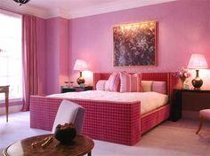 Pink Valentine Bedroom Interior Design Ideas