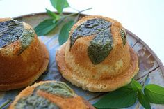 Little pound cakes topped with fresh pineapple sage. Eat your herbs! Sage Recipes, Herb Recipes, Baking Recipes, Dessert Recipes, Kiwi, Pineapple Sage, Farmers Market Recipes, Pound Cakes, Cake Toppings