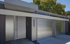 Superb Northgate Also Installed This Custom Garage Door Of Anodized Aluminum With  Brushed Finish.