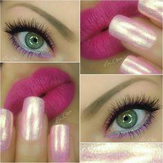 💖 Brows @anastasiabeverlyhills - dipbrow taupe  Lips @dm_p2cosmetics - 070 take a bow Nails @chinaglazeofficial - 1297 lotus begin - 1003 shocking pink (Neon)  @opi_products - ski slope sweetie  #lipart #lips #lipsticks #liptutorial #mua #lipliner #makeupblogger #makeup #like4like #makeupaddict #makeupoftheday #makeupartist #makeupart #naillacquer #_makeup_artist_worldwide_ #nails2inspire  #nailoftheday #nailsofinstagram #instamakeup  #undiscovered_muas #mua #dressyourface…