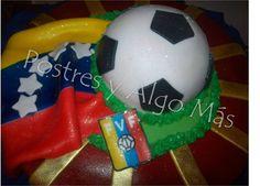 Torta de La Vinotinto - Vinotinto Cake - Selección de Fútbol Venezolana - Venezuela Soccer team