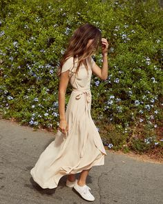 W R A P D R E S S // The Autumn Dress is back in Butterscotch!
