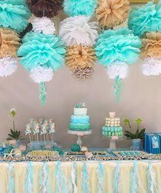 mermaid candy buffet
