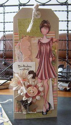 Twee kaarten gemaakt met de geweldige ''Doll with Peasant Dress'' van Prima Marketing, ik zag ze bij Doeading en kon ze niet weerstaan, ...