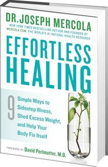 My new book Effortless Healing is now a New York Times best seller. I've organized it into a guide that will help you avoid the many pitfalls of the conventional approach to health.  Rather than relying on expensive and potentially dangerous drugs, I will help you effortlessly make small shifts in what you eat and how you live to achieve your health goals.