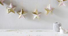 DIY : Fringed Ornament Garland