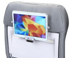Airplane travelers, stop trying to figure out where to hang your tablet while sitting on the plane. Sit back & relax with the Atlas