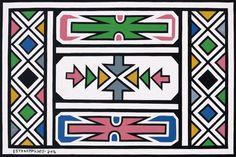 ndebele pattern * ndebele pattern ` ndebele pattern design ` ndebele pattern art ` ndebele pattern template ` ndebele pattern dress ` ndebele pattern black and white ` ndebele pattern beadwork African Artwork, African Paintings, South African Artists, African Tribes, Pattern Art, Pattern Design, Pattern Dress, Art Patterns, African Tattoo