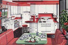Best vintage kitchen images retro kitchens