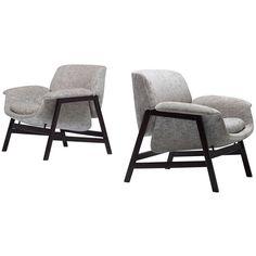 1stdibs.com | Lounge Chairs Model 849, Pair by Gianfranco Frattini