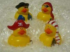 boy pirate rubber ducks
