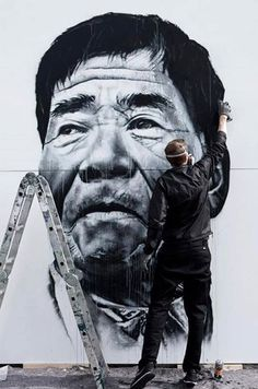 Foto: • ARTIST . ECB • ◦ Untitled ◦ location: Seoul, South Korea #streetart