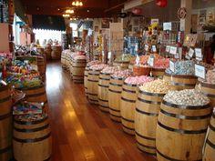 Candy in Barrells