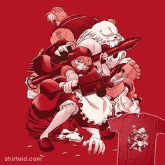 Little Red Hunter | Shirtoid #babybonniehood #coinboxtees #darkstalkers #gaming #videogame