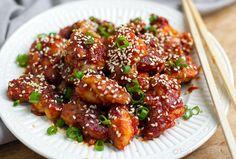 Korean Style Spicy Chicken (Paleo & Gluten Free) | Eat Drink Paleo