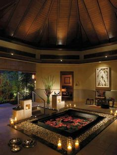 A night of romance in a gorgeous candlelit jacuzzi would be the near-end of my perfect Valentine's Day #genesisvalentine