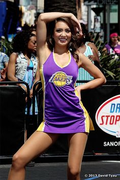 Laker Girl Lakers Girls, Los Angeles Lakers, Cheerleading, Sports, Tops, Women, Style, Fashion, Moda