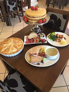 Lunchtime at Bookham Village Restaurant and Tearoom #surreytearoom #bookham