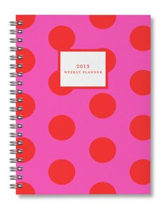 Keep your year bight and organized with this weekly planner!