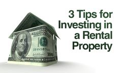 3 Real Estate Investment Tips for Choosing a Rental Property - http://www.rentprep.com/blog/3-real-estate-investment-tips-choosing-rental-property/