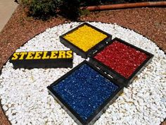 Decorate your lawn Steelers style!