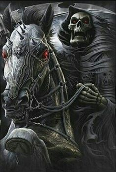 skulls and reapers | Uploaded to Pinterest