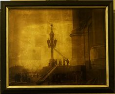 ХХС 31 год - печать на стекло 40х50 со стеклянных пластин 9 х 12, снятых Антиповым Сергеем Тимофеевичем в 1931 году и предоставленных нам его наследниками , с дальнейшим декорированием золотом со стороны изображения. Фотографии публикуются впервые !