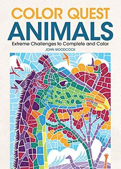 Calling All Puzzle Lovers Animal Enthusiasts And Challenge SeekersColor Quest Animals Features 30 Wild Wonderful Creatures That Are Just Waiting To