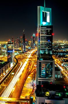 Dubai After Hours 2 by Martin Davies on Dubai, After Hours, Night City, Times Square, Around The Worlds, Landscape, Nightlife, Cities, Travel