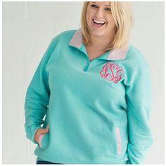 Mint Pinstripe Pullover | underthecarolinamoon.com #Pullover #PullOver #PinstripePullover #MintPullover #UTCM #UnderTheCarolinaMoon
