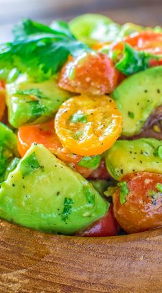 Healthy and so flavorful, this Tomato Avocado Salad makes a great addition to your dinner or lunch. This is one of the most loved recipes in my family! Visit Cooktoria for detailed instructions.  If you make this recipe, please, share some photos. I ALWAYS check!  #salad #avocados #tomatoes #heathyrecipe #keto #ketorecipe #ketodiet #lunch #lowcarb #ketosis