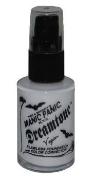 Manic Panic Virgin Dreamtone Gothic Foundation Vampire White 1 fl oz -- Click image for more details. Flawless Foundation, Foundation Colors, No Foundation Makeup, Liquid Foundation, White Face Makeup, Pale Makeup, Brand Review, Covering Dark Circles, Dark Under Eye