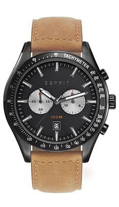 Esprit Herren-Armbanduhr Man ES108241004 Chronograph Quarz: Esprit: Amazon.de: Uhren