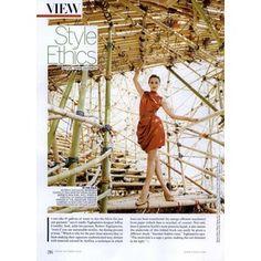 Vogue Womens Editorial Style Ethics, October 2010 Shot #1 - MyFDB