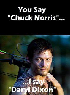 I say Norman Reedus