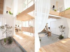 Integración de la naturaleza en una vivienda