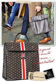 Below : Goyard Sainte Lucie. my new bag obsession. Goyard Men, Goyard Tote, Tote Bag, Stylish Handbags, Fashion Handbags, Goyard Handbags, Sainte Lucie, Vegetable Leather, Cloth Bags