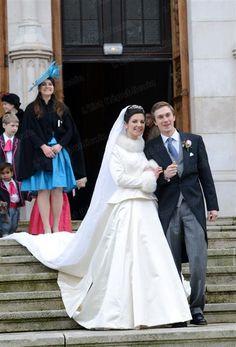 Adélaïde et Christoph : mariage princier à St-Epvre-Nancy. Photo Pierre Mathis