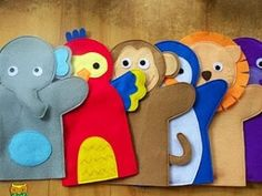 hand puppets by penny