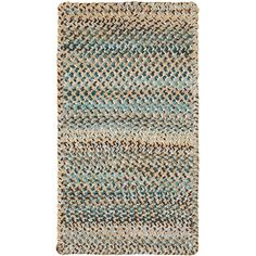 "Capel Ocracoke Deep Blue Area Rug Rug Size: Oval 2'3"" x 9'"