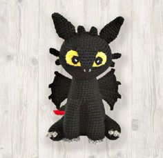 Night Fury Toothless Inspired Crochet Pattern, Dragon Crochet Pattern, Crochet Black Dragon, Baby Dragon Crochet, Amigurumi Dragon, PDF  ***The pattern available in English language only***  Please note: This listing is for Crochet PATTERN and NOT FOR A FINISHED ITEM  This listing is for amigurumi Best Christmas Presents, Christmas Hat, Crochet Yarn, Crochet Hooks, Crochet Alphabet, Pig Character, Amigurumi For Beginners, Dragon Artwork, Crochet Toddler