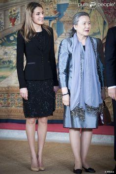 Crown Princess Letizia of Spain 4/4/2013