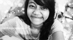 me-black&white-smile bokeh