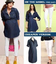 Cute spring maternity clothes for less!